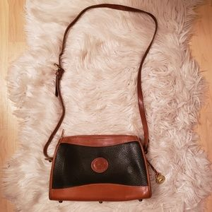 Vintage Dooney and Bourke Leather Crossbody Purse